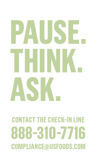 pause, think, ask
