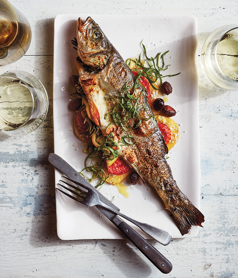 Ligurian Wood-Roasted Branzino from Centrolina, Washington, D.C.