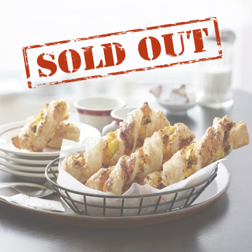 Sold out menu item graphic