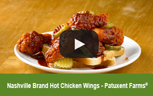 Nashville Brand Hot Chicken Wings