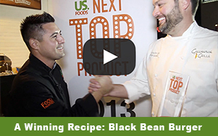 A Winning Recipe: Black Bean Burger