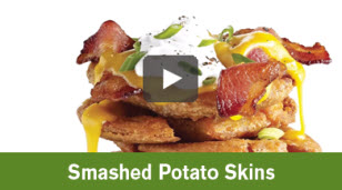 Smashed Potato Skin