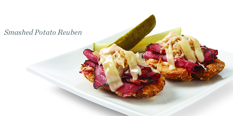 Reuben Potato Skins Recipes — Dishmaps