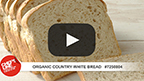 Organic Country White Bread