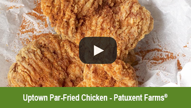 Uptown Par-Fried Chicken Thigh