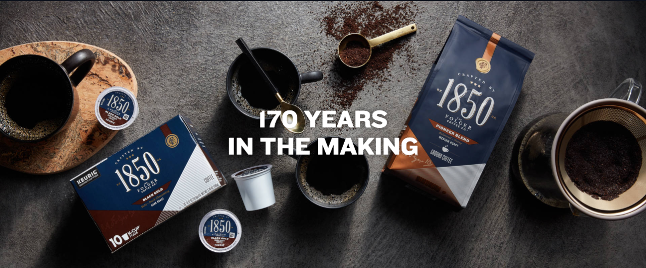Sponsored by 1850 For the Folger Coffee Co.