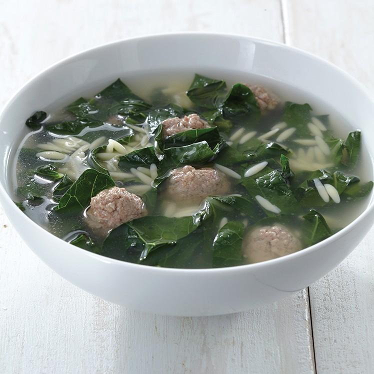 Italian Wedding Soup Recipes.Broccoli Leaf Italian Wedding Soup